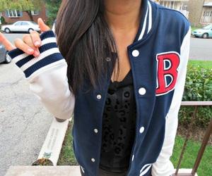 girl, cool, and jacket image