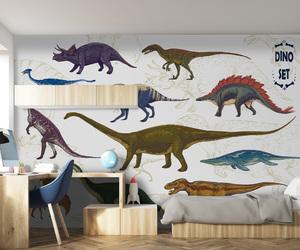 decor, design, and dinosaurs image
