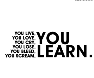 love, learn, and quotes image