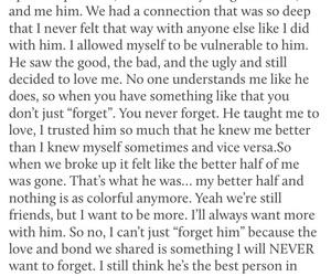 break up, heartbroken, and poetry image