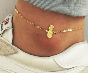 pineapple, accessories, and anklet image