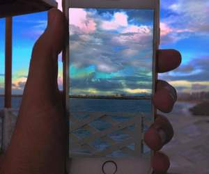 goals, iphone, and landscape image