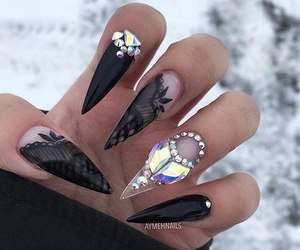 art, nails, and nailart image