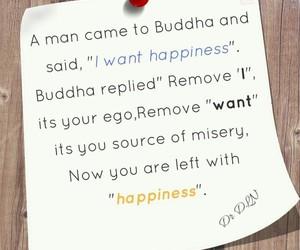 Buddha, happiness, and i image