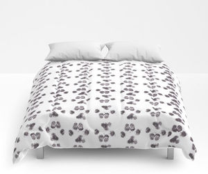bedroom decor, dog lover, and queen size image