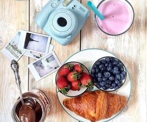 blue, camera, and food image
