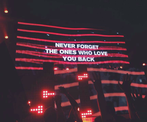 light, quote, and neon image