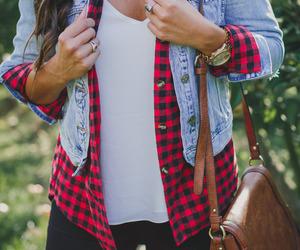 fashion, oufit, and shirt image