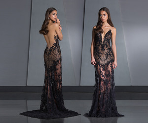 dress, gown, and vestido longo image