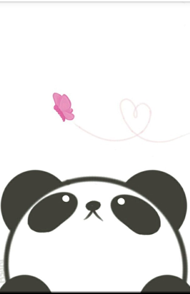 panda, wallpaper, and kawaii image