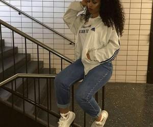 girl and adidas image
