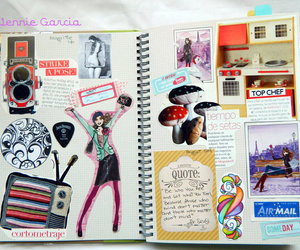 book, fun, and Collage image