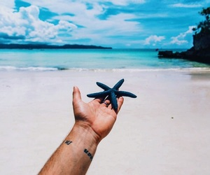 artsy, tropical, and beach image