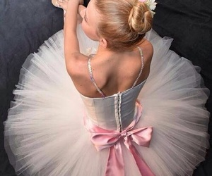 ballerina, dance, and tutu image