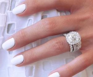 beautiful, diamond, and wedding image