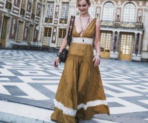 beautiful, dress, and Jennifer Lawrence image