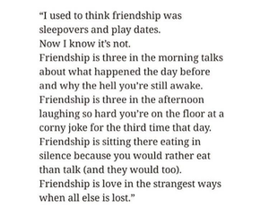 friendship, tumblr, and friendship quote image