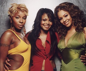 janet jackson, beyoncé, and mary j blige image