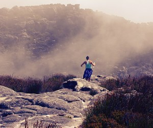 cape town, girl power, and running image