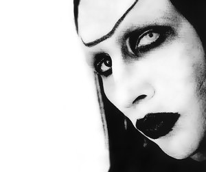 Marilyn Manson, metal, and rock image
