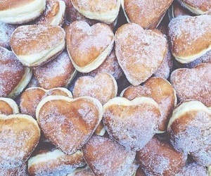 beignets, food, and dessert image