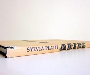 book, sylvia plath, and ariel image