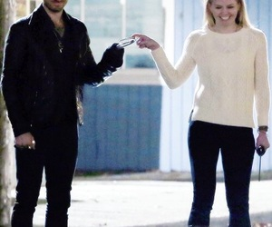 captain swan, once upon a time, and captain hook image