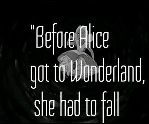 alice, alice in wonderland, and frase image