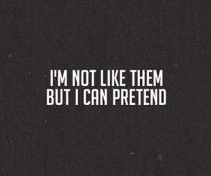 quote, pretend, and nirvana image