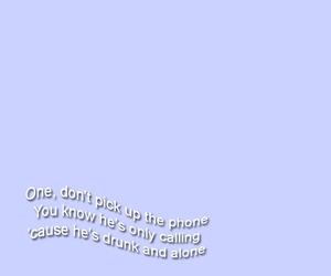 Lyrics, music, and one image