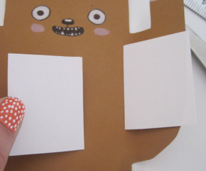 bear, diy, and birthday image