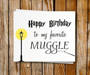 birthday, diy, and harry potter image