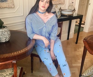 beauty, blue, and clothes image