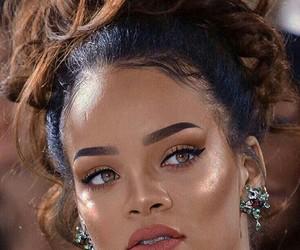 rihanna and makeup image