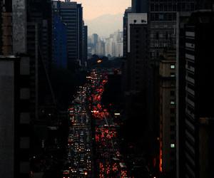city, traffic, and são paulo image