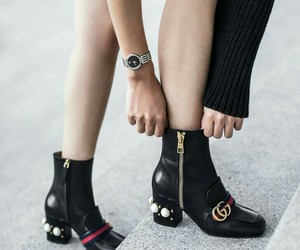 gucci, fashion, and boots image