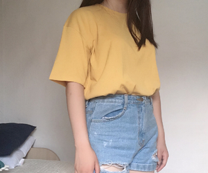 asian, casual, and korean girl image
