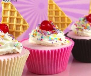 candy, cupcake, and doce image