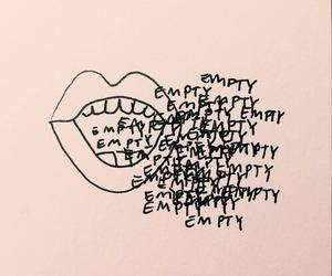 empty, tumblr, and art image