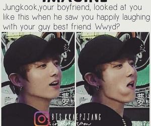 boyfriend, bts, and jungkook image