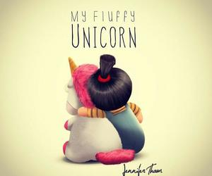 cute, unicorn, and despicable me image