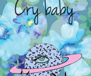 background, pattern, and crybaby image