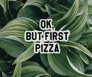 background, green, and pizza image