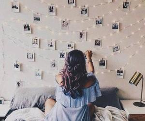 girl, photo, and hair image
