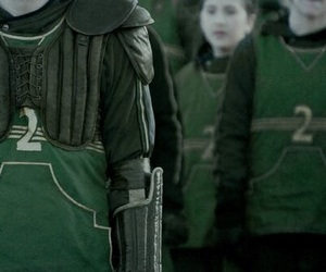 slytherin, green, and quidditch image