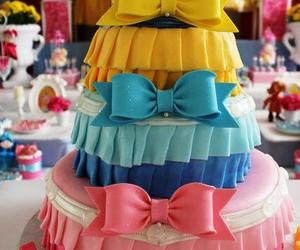 birthday cake, princess, and cake image