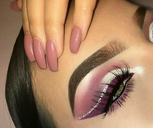 chic, nails, and fashion beauty pretty image