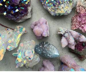 blue, crystal, and gem image