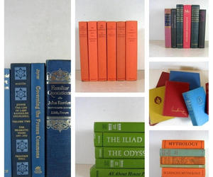 books, vintage books, and photo props image
