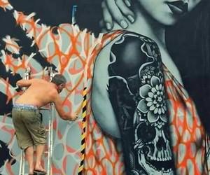 arte, color, and grafitti image